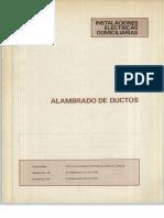 Vol. 44 Instalaciones Eléctricas Domiciliarias Alambrado de Ductos