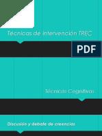 Técnicas de intervención TREC