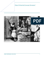great depression - inflation -