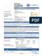 Desinfectante de maquina de hemodialisis