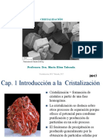 Clase 1 Cristalizacion Ing Ind. 2017