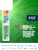 Report of a Conference where the World Summit on the Information Society addresses the SDGs
