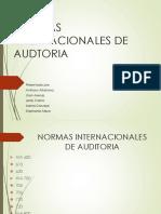Normas Internacionales de Audtoria