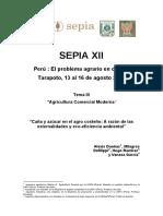 Azucar y Agro en El Perú