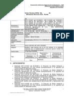 Informe San Barichara May 2012 Chia