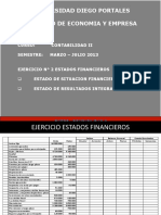 Contabilidad II - Ejercicio EE. FF. 2