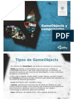 Unity3D 03 GameObjects y Componentes