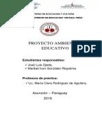 PRYECTO AMBIENTAL EDUCATIVO