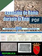 Expansion Roma Republica