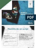 Unity3D-12-Scripts y Metodos Basicos