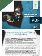 Unity3D 13 Deteccion de Colisiones