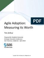 Agile Adoption Paper