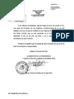Proyecto modificación LOPJ, Registro Civil, 27-7-2010