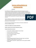 Trastornos Alimenticios en Adolescentes MONOGRAFÌA(Sociologia)