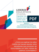 Liderando Una Escuela Inclusiva Con Un Enfoque de Justicia Social (Carmen Montecinos)