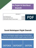 Sengketa Pajak Dan Retribusi Daerah