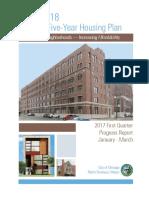 DPD Affordable Housing Progress Report Q1 2017