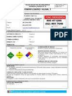 Hds 19 Oxigeno Liquido69398