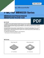 Mb90223 Procesador Principal