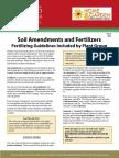 HG42 Soil Amendments and Fertilizers