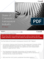 State of Canada's Aerospace Industry 2017 Report