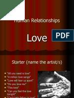 Theories of Love