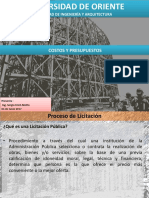 Presentacion Licitacion Publica