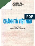 (1960) Chánh Tả Việt Ngữ - Lê Ngọc Trụ
