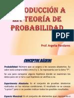 Introducción a La Teoría de Probabilidad