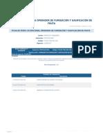 Perfil Competencia Operador de Fumigacion y Gasificacion de Fruta