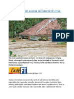 Recent disasters expose Government's true capabilities.docx