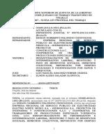 Sentencia Palomino Cienfuegos
