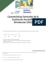 1 Clase 1 Características Generales de La Sustitución Nucleófila Bimolecular (