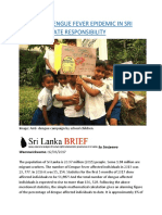 SRI LANKA DENGUE FEVER EPIDEMIC IN SRI LANKA VS. STATE RESPONSIBILITY.docx