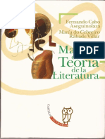 Manual de Teoria de La Literatura