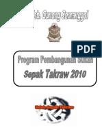 Kertas Kerja Program Sukan Sepak Takraw