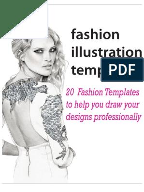 Ffashion Figure Templates Style Consumer Goods