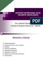 Soporte Nutricional en El Paciente Oncológico