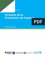 MB01ES_Sinopsis de La Evaluación de Impacto
