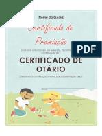 Certificado Ontário
