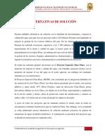 Alternativas de Solucion Del Rio Chira