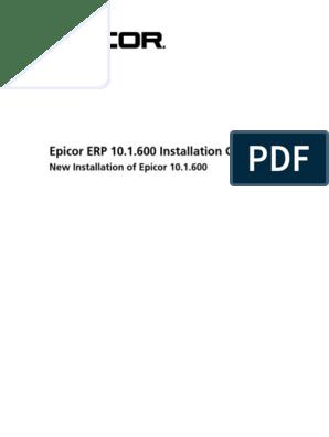 Epicor10_NewInstallGuide_101600   Internet Information