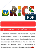 Novas Areas de Influencia - Brics