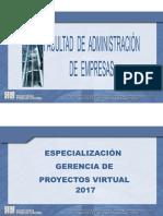 Tutoria 1 Seguimiento y Control de Proyectos 2017-I