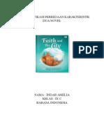 Mengidentifikasi Perbedaan Karakteristik Dua Novel