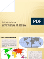 Geopolítica Da África