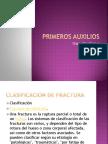 PRIMEROS AUXILIOS FRACTURAS