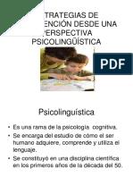 Estrategias de Intervención Desde Una Perspectiva Psicolingüístic 1