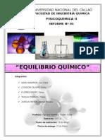 Informe 5 Equilibrio Quimico