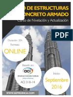 Curso Online Nivelacion y Actualizacion Diseño en Concreto